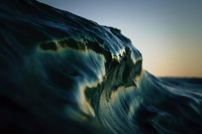 Работы австралийского фотографа Рэя Коллинза (Ray Collins) складки света folds of light