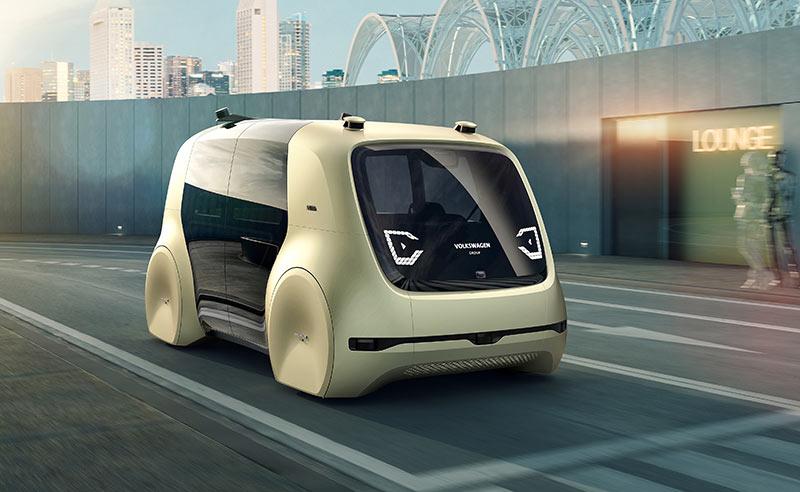 Volkswagen представил концепт-кар Sedric