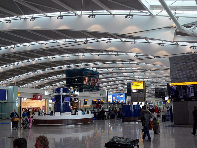 Лондонский аэропорт Хитроу (LHR)