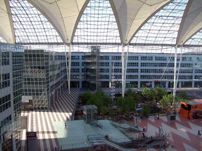 Аэропорт Мюнхена (MUC)