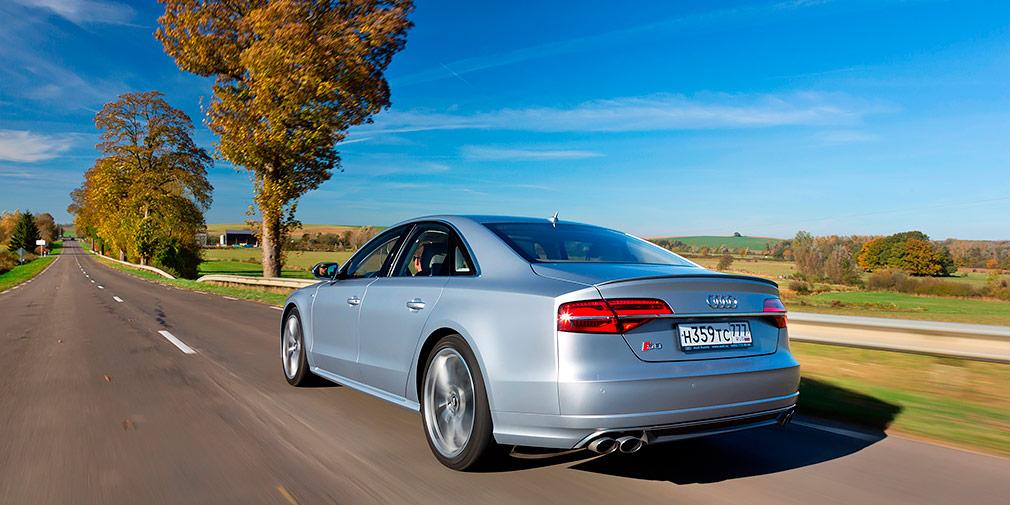 Тест-драйв Audi S8 plus