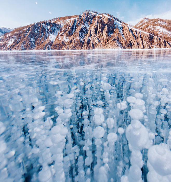 Прогулка по замерзшему Байкалу