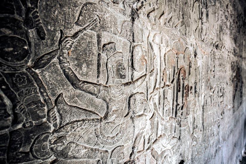 Барельеф Ангкор-Вата