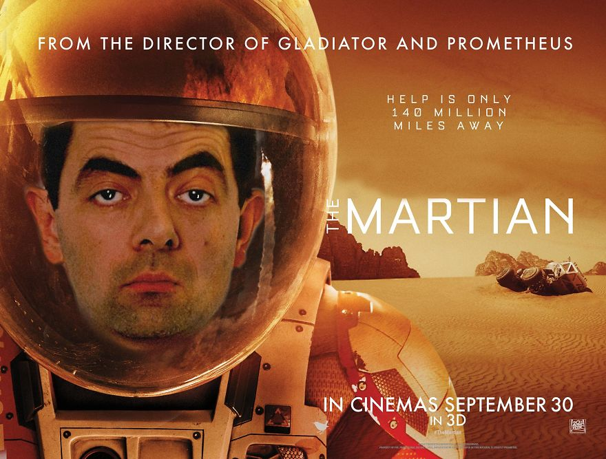 «Марсианин». На Марсе мог выжить только мистер Бин