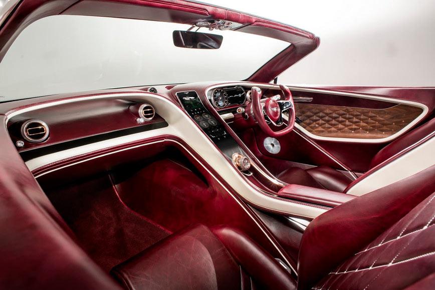 Британцы из Bentley приятно удивили публику роскошным электрическим родстером
