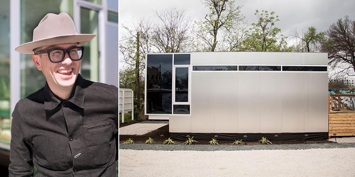 """""""Этот домик площадью 32 кв. метра создал профессор, проживший год в мусорном контейнере"""