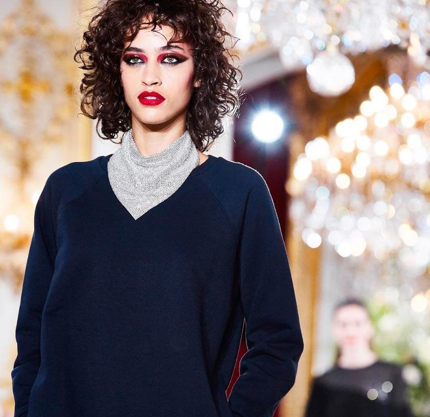 Неземная красота: 15 макияжей с Парижской недели моды Vanessa Seward
