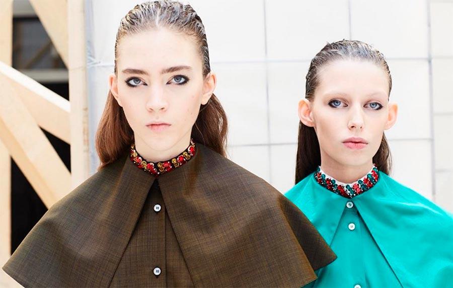 Неземная красота: 15 макияжей с Парижской недели моды Aalto