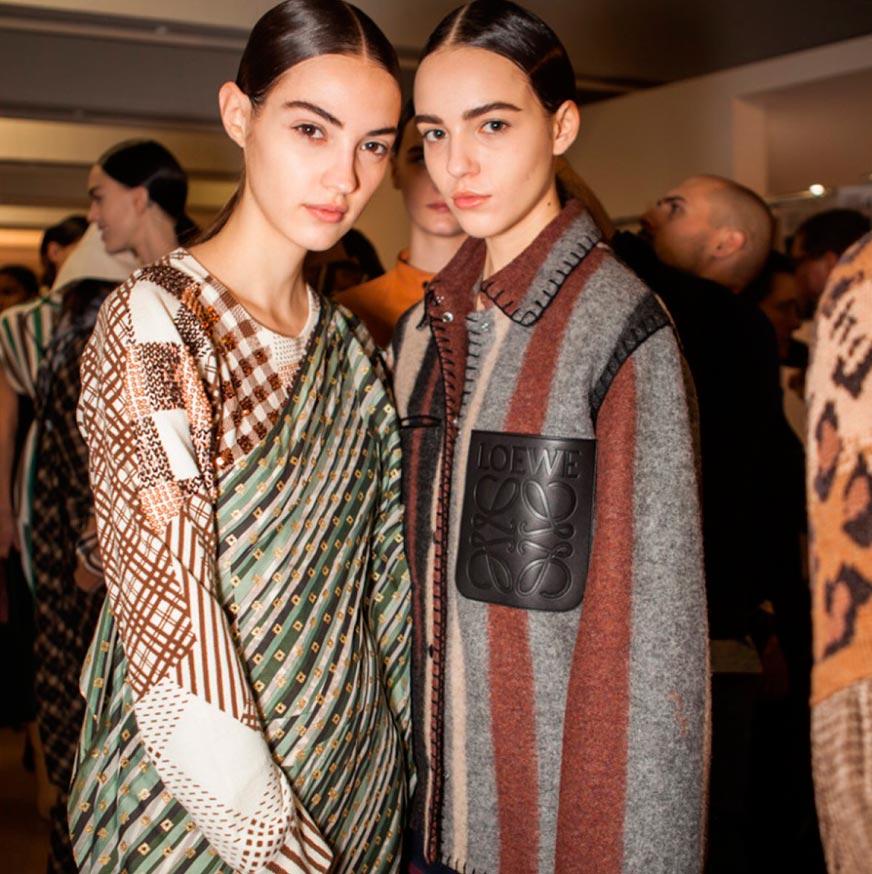 Неземная красота: 15 макияжей с Парижской недели моды Loewe