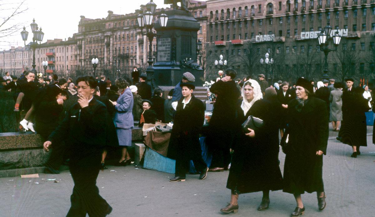 Редкие фото СССР 50-х, сделанные американским дипломатом