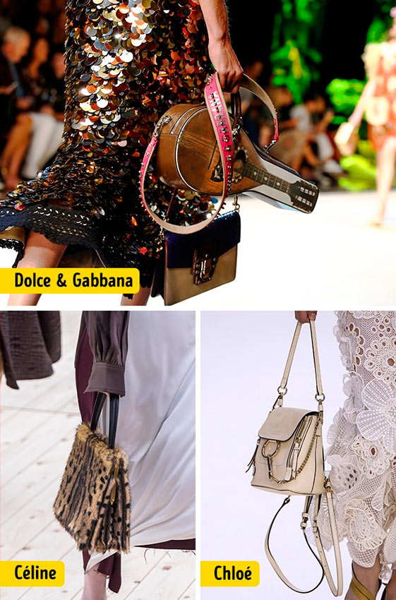 Chanel Louis Vuitton Céline Dolce&Gabanna Prada Christian Dior ткани мода accesories