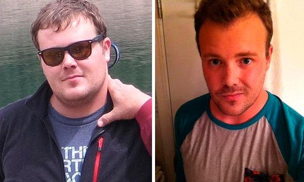 Фотографии людей до и после того, как они бросили пить