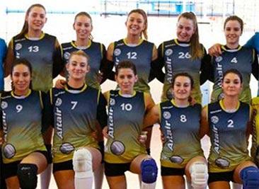 Женская волейбольная команда «Альтаир 1963» из города Виченца