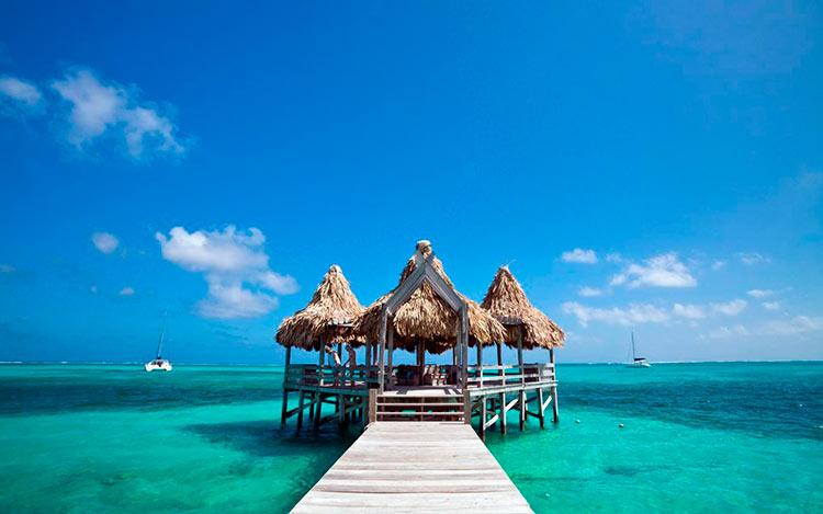 13 мест с самой красивой водой на планете Амбра Сауе Белиз ambra cауе