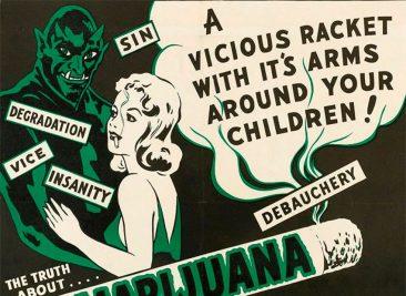 Антиконопляные плакаты из эпохи «косякового безумия» 1936-1950