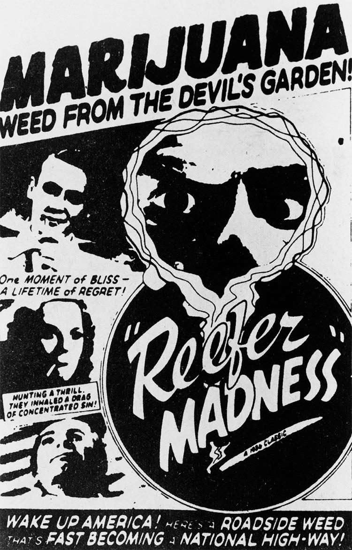 13 антиконопляных плакатов из эпохи косякового безумия марихуана сорняк из дьявольского сада косяковое безумие Reefer Madness