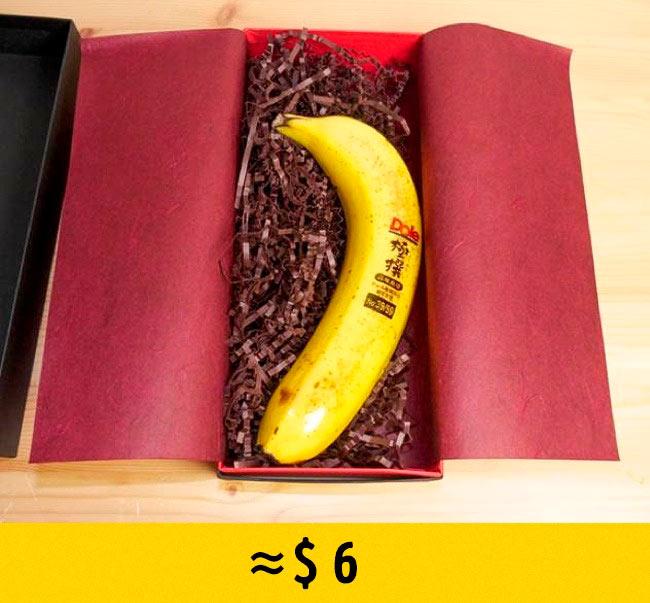 10 редких фруктов, которые стоят возмутительно дорого Бананы Gokusen bananas
