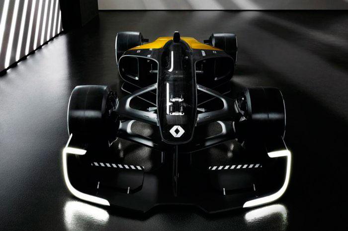 Концепт болида Формулы-1 от Renault