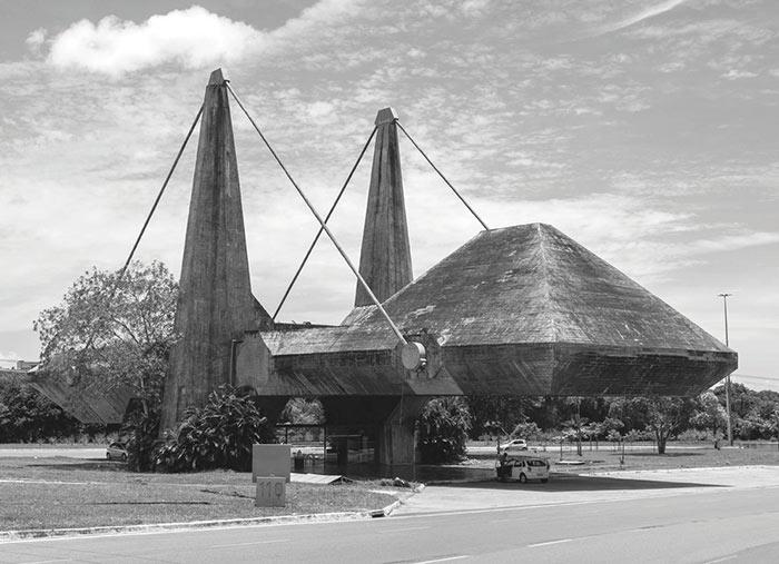 здания в стиле брутализма Питер Чедвик Административный центр Баия, Бразилия