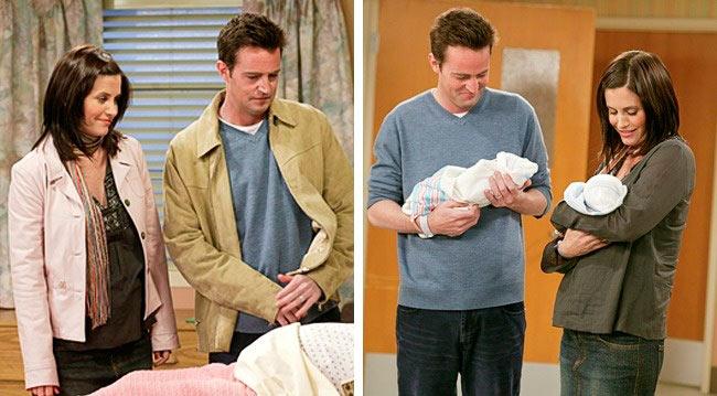 актрисы, сыграли свои лучшие роли, будучи беременными Кортни Кокс — «Друзья» Courteney Bass Co
