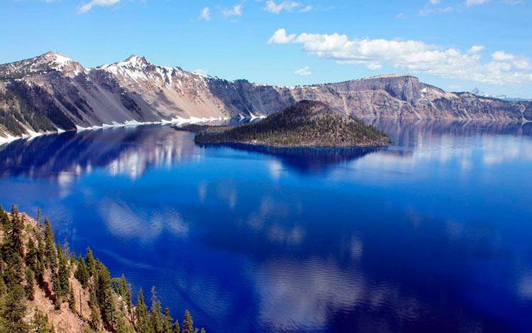 13 мест с самой красивой водой на планете Озеро Крейтер Орегон США