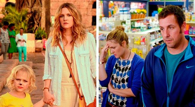 актрисы, сыграли свои лучшие роли, будучи беременными Дрю Бэрримор — «Смешанные» Drew Blyth Barrymore