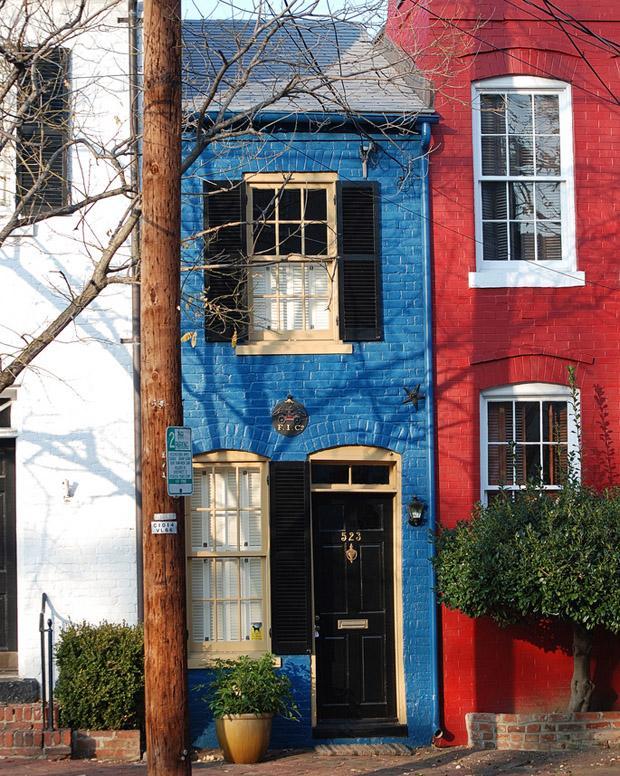 дома, построенных из чистой вредности Александрия Вирджиния eight house