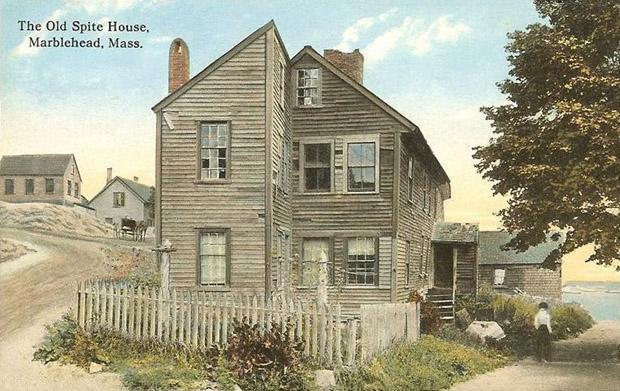 дома, построенных из чистой вредности Марблхед (Массачусетс)