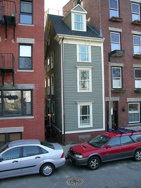 дома, построенных из чистой вредности Бостон