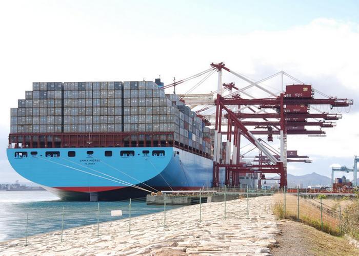крупнейший в мире двигатель мощностью 109 000 лошадиных сил Wärtsilä 300 RT-flex96C Судно-контейнеровоз «Emma Maersk