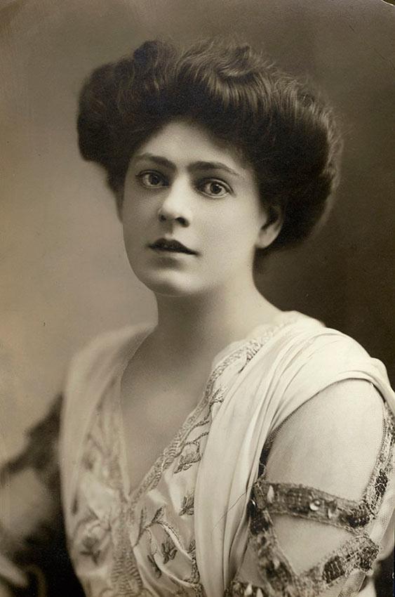красивые женщины эпохи короля Эдуарда Этель Бэрримор ethel barrymore