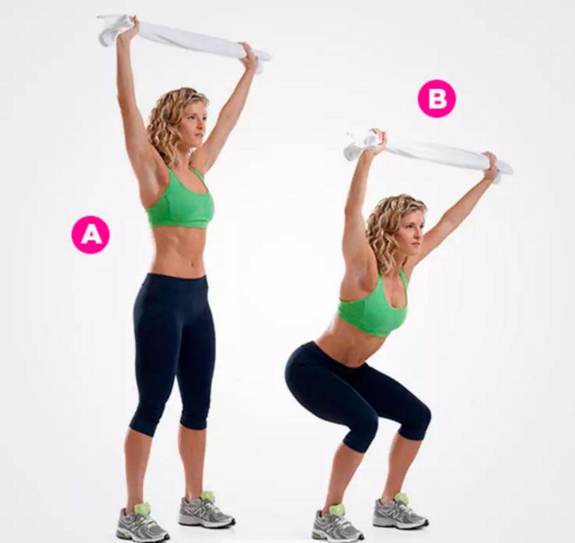 зарядка exercises