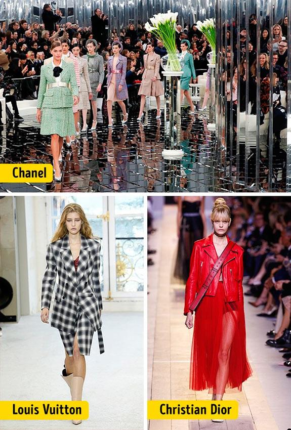 Chanel Louis Vuitton Céline Dolce&Gabanna Prada Christian Dior ткани мода fabric