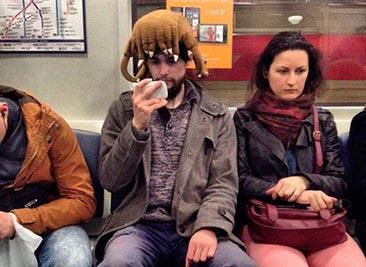 Модные граждане из российского метро (часть 2)