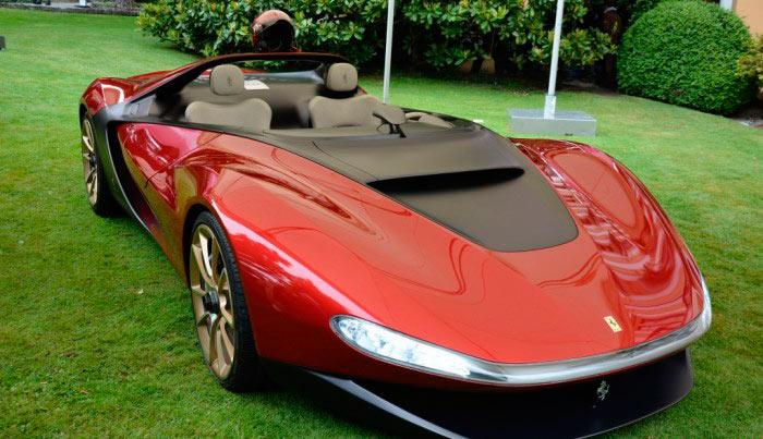 Самые дорогие автомобили ferrari pininfarina sergio