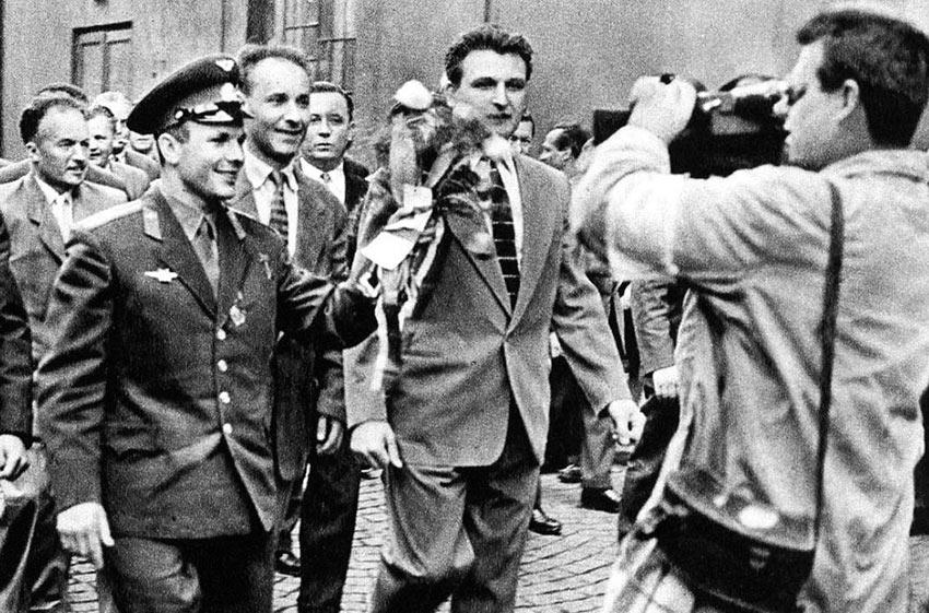 «Поехали!» Юрий Гагарин День Космонавтики