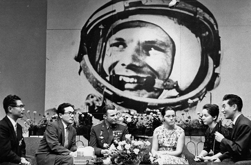 Юрий Гагарин в Японии. 21 мая 1962 года. День Космонавтики
