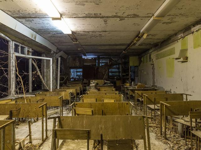 Фотограф побывал в Чернобыле и включил свет ghernobyl