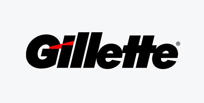Символы, спрятанные в известных логотипах Gillette