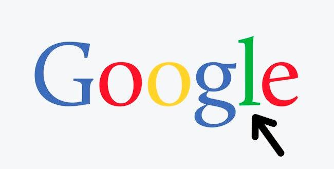 Символы, спрятанные в известных логотипах google