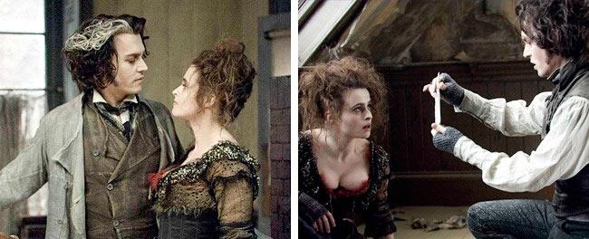 актрисы, сыграли свои лучшие роли, будучи беременными Хелена Бонэм Картер — «Суини Тодд» Helena Bonham Carter