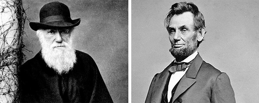 15 интересных фактов Чарльз Дарвин Авраам Линкольн день рождения 12 февраля 1809 года