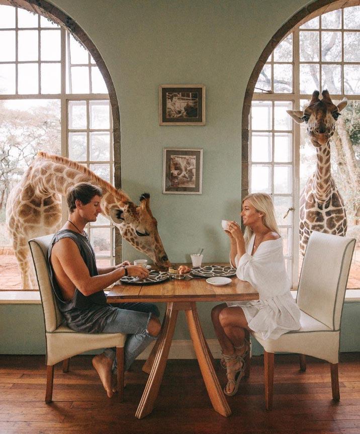 Джек Моррис и Лорен Буллен путешествуют по миру