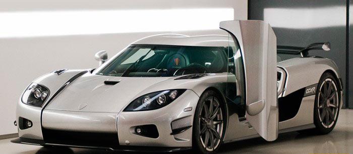 Самые дорогие автомобили koenigsegg CCXR trevita
