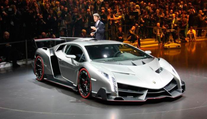 Самые дорогие автомобили lamborghini veneno