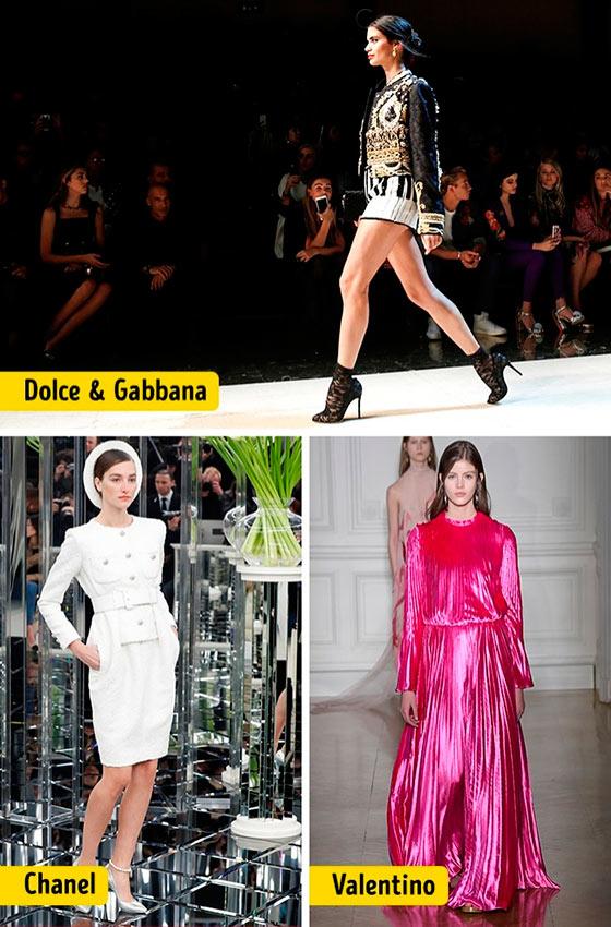 Chanel Louis Vuitton Céline Dolce&Gabanna Prada Christian Dior ткани мода lenth products
