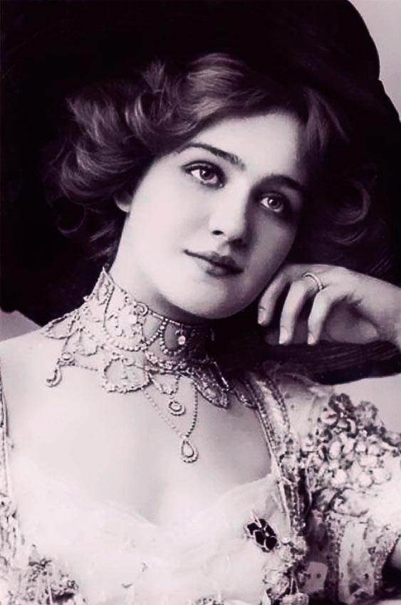 красивые женщины эпохи короля Эдуарда  лили элси lily elsie