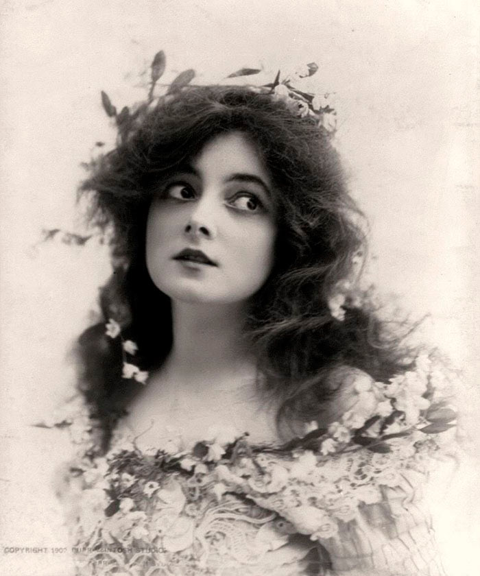 красивые женщины эпохи короля Эдуарда мари доро marie doro