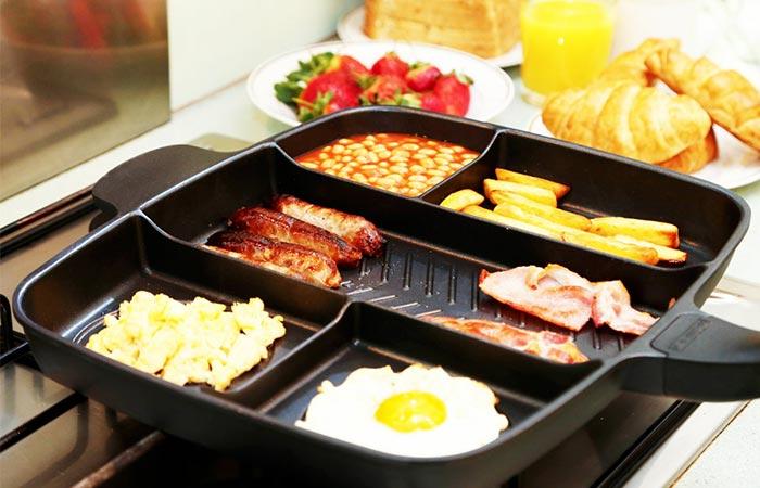 оригинальные подарки для любителей готовить Супер сковорода masterpan