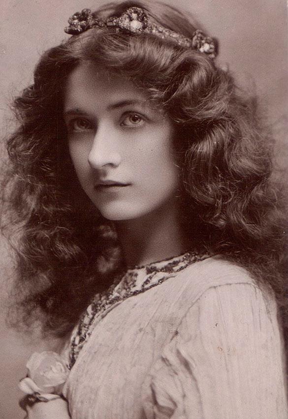 красивые женщины эпохи короля Эдуарда  мод фили maude fealy